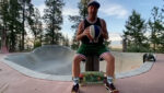 Jeff Ament Performs Basketball 'Trick Shot' for ALS Challenge