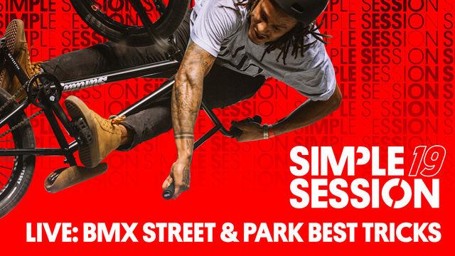 Simple Session 2019 – Bmx Street and Park Best Tricks